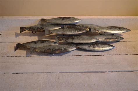 School Of Fish Wall metal school of fish wall chicy rachael