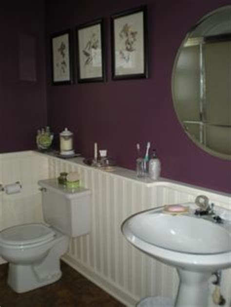 plum bathroom decor plum bathroom on pinterest door makeover seashell