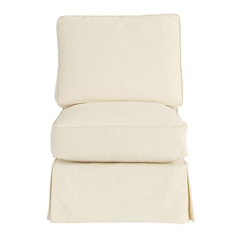 armless sofa slipcover davenport armless club chair slipcover special order