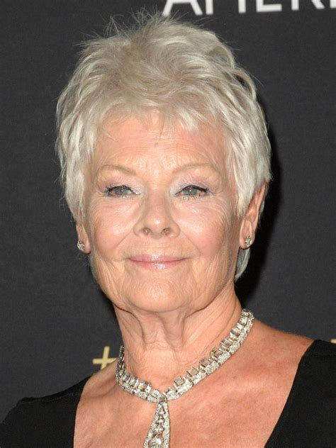 judi dench haircut judi dench hairstyle back short hairstyle 2013