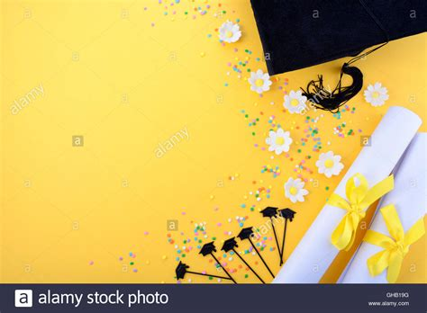 backdrop design for convocation yellow black and white theme graduation background with