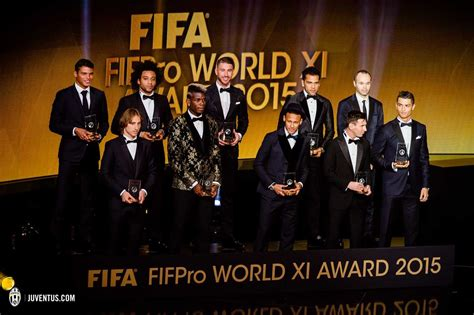 best r in 2013 2017 fifa ballon d or award 2015 ceremony 11 1 2016