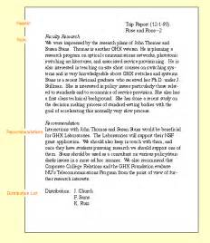 business trip report format trip reports