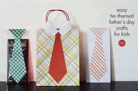 easy fathers day crafts for s day crafts tie themed gifts live craft eat