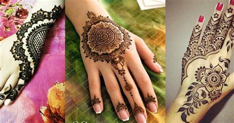 Eid Mehndi Designs 2015 | latest beautiful eid mehandi designs collection 2016 2017