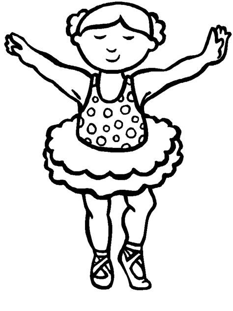 Little Dancing Girl Cool Coloring Pages Coloring Pages Cool Coloring Pages For Boys Free