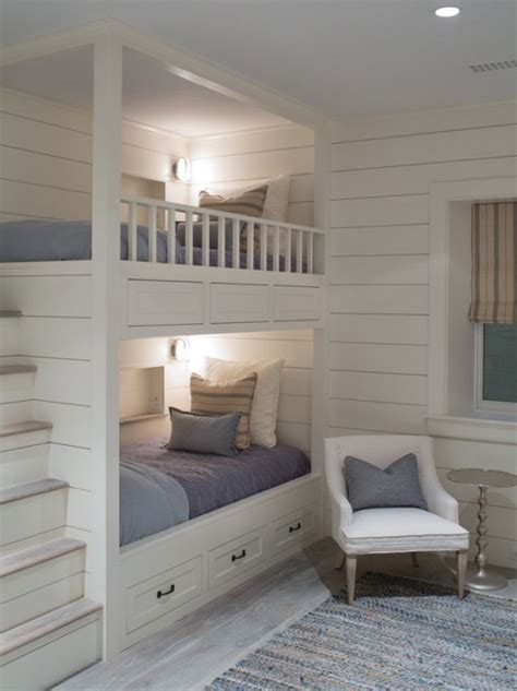 coolest bunk beds 26 cool and functional built in bunk beds for digsdigs