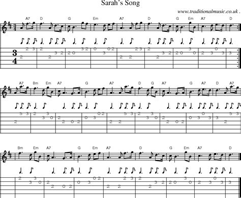 song tab scottish tune sheetmusic midi mp3 guitar chords tabs
