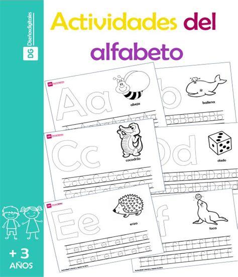 actividades de abecedario para ninos actividades del alfabeto para ni 241 os preescolar y primaria