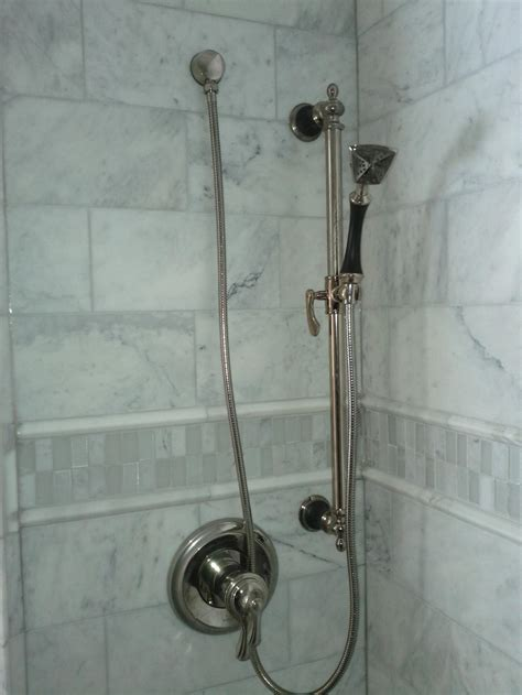 marble tile shower 30 great pictures of marble shower tile
