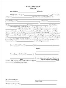Partial Lien Waiver Template the indiana partial waiver of lien can help you make a