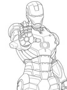iron man marvel iron man coloring pages free printable