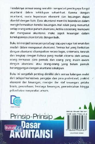 Buku Untuk Orang Awam bukukita prinsip prinsip dasar akuntansi untuk pemula dan orang awam