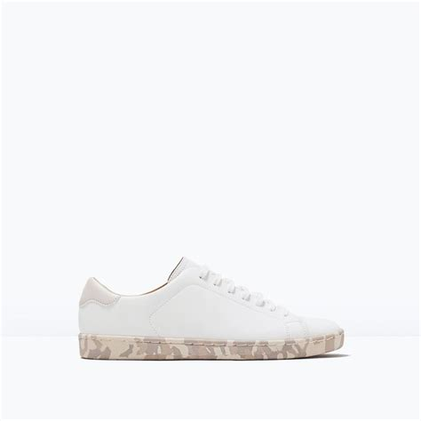zara and products on pinterest sneakers with printed sole sneakers shoes man zara