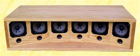 center channel speaker design techtalk speaker building