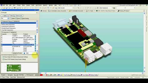 3d designer altium designer 3d model of your pcb it s really easy