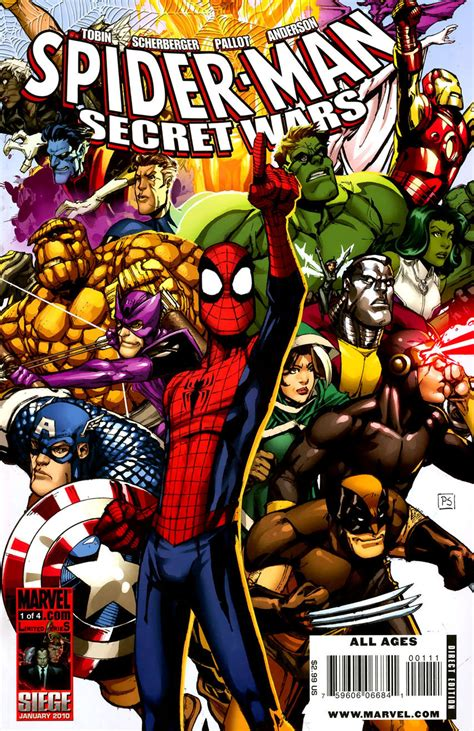 libro secret wars secret wars spider man the secret wars vol 1 1 marvel database fandom powered by wikia