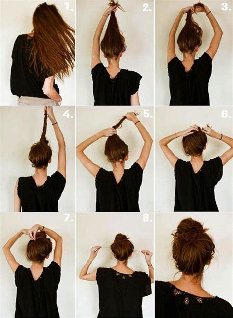 diy hairstyles quick and easy 17 quick and easy diy hairstyle tutorials