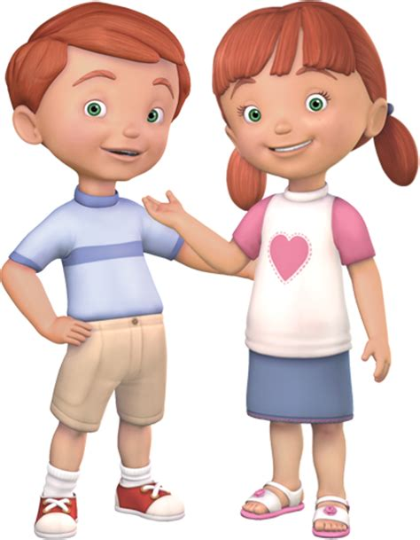 Backyard Themes Meet Drew And Gracie Animated Children S Charactersboz