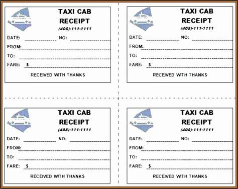 9 taxi receipt format sletemplatess sletemplatess