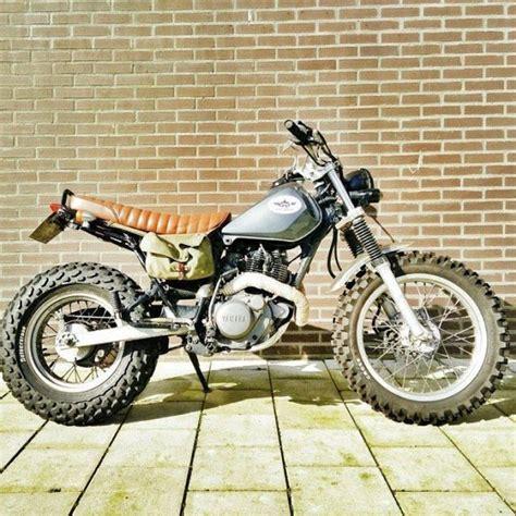 Motorrad Yamaha Tw200 by Yamaha Tw200 En Tw125 Custom Pinteres