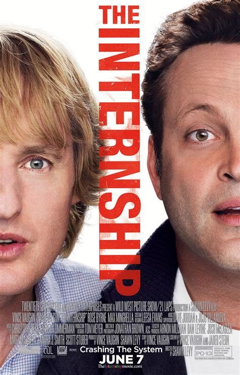 intern vince vaughn exclusive owen wilson vince vaughn crash the system in