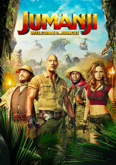 movies out now jumanji welcome to the jungle by dwayne johnson jumanji welcome to the jungle movie fanart fanart tv