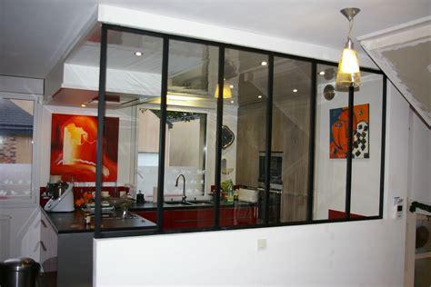 entr馥 cuisine verriere entre cuisine et salle 224 manger table de cuisine