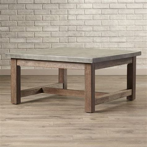 concrete top coffee table best 25 concrete coffee table ideas on