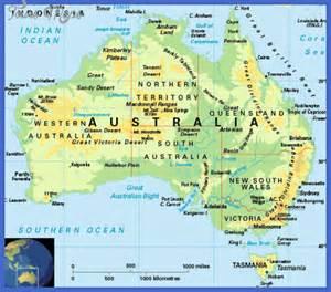 australia map tourist attractions map travel