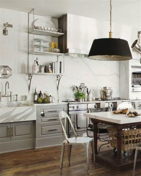 get the look french industrial country kitchen kathy kuo home