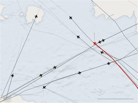 airasia qz502 where airasia flight 8501 was lost and debris found the
