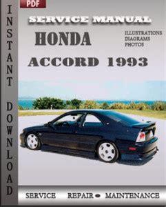 1993 honda accord service manual free download accord service manual handy download