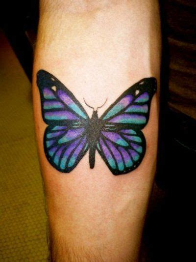 purple butterfly tattoo realistic purple butterfly