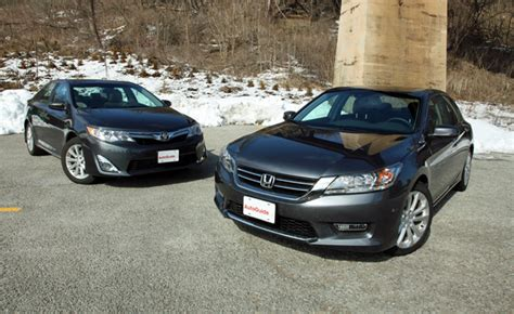 Honda Of Toyota 2013 Toyota Camry Vs 2013 Honda Accord Car Reviews