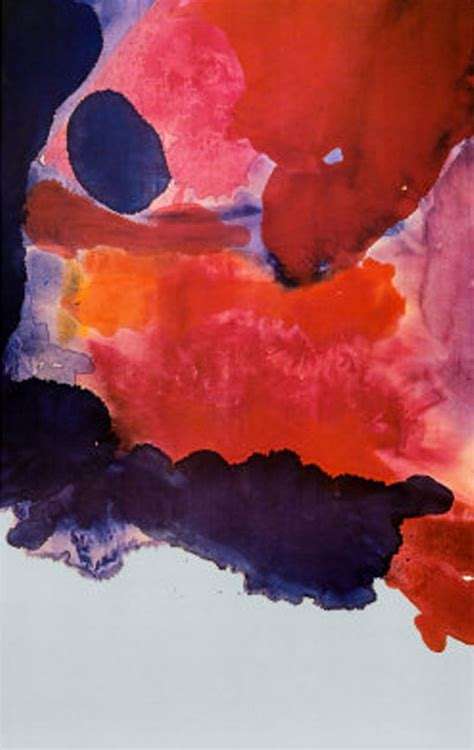 which movement does color field painting belong to of the day helen frankenthaler february s turn