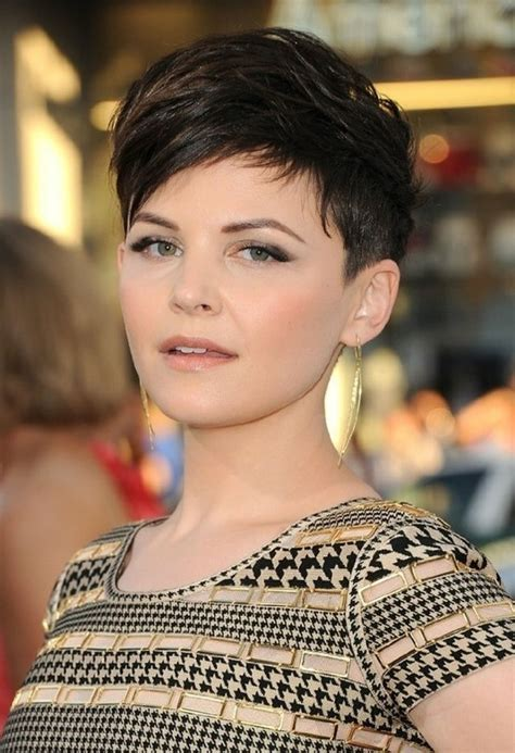 pixie cuts how to style a ginnifer goodwin pixie ginnifer goodwin short haircut black pixie cut with side