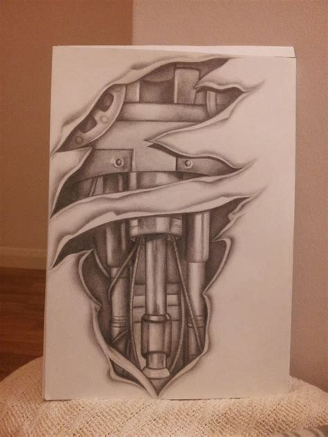 biomechanical tattoo drawings biomechanical tattoo sleeve design by shell31 on deviantart