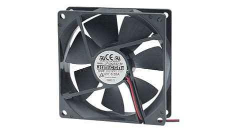 120 x 120 x 25mm fan jf1225s2h 000 065 axial fan 120 x 120 x 25 mm 24 vdc jamicon