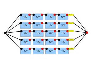 48 volt battery bank wiring northernarizona windandsun