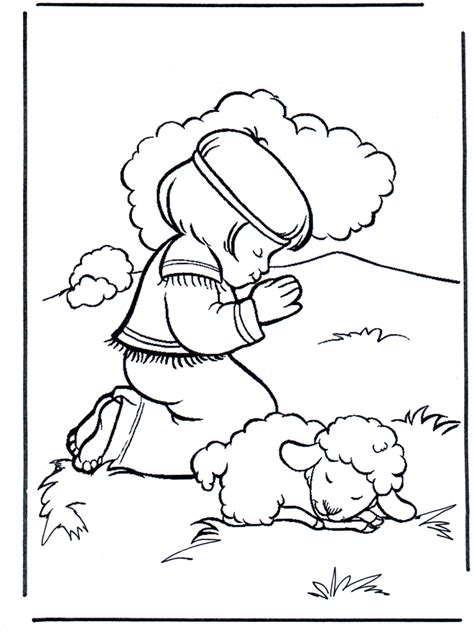david vs goliath coloring pages