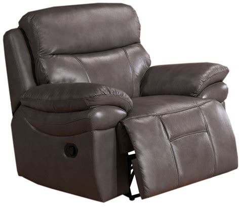 Grey Leather Recliner Summerlands Smoke Grey Leather Recliner C9796nrc2131lu Amax Leather