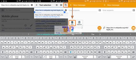 how do you copy and paste on android how to copy and paste on android step by step guide