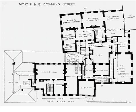 floor plan of houses of state downing street floor plans london 10