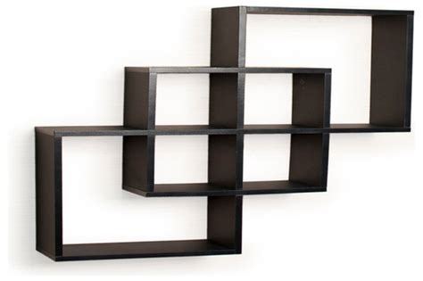 waagerechtes bauglied black decorative wall shelves floating decorative
