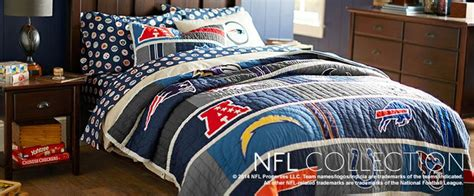 Football Bedrooms Football Bedding Nfl Bedding Bed Sheets Pbteen Kid S