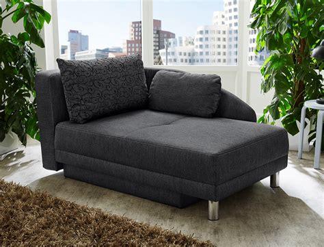 sofa ottomane recamiere 149x90 anthrazit ottomane schlafsofa