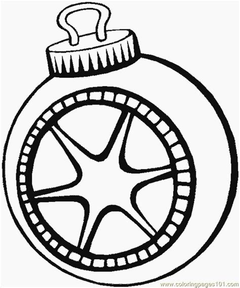 Christmas Tree Ornaments Coloring Pages Coloring Home Tree Ornaments Printable Coloring Pages