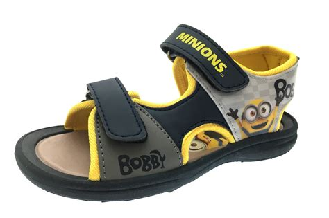 boys sandals size 13 boys minions despicable me velcro summer sandals