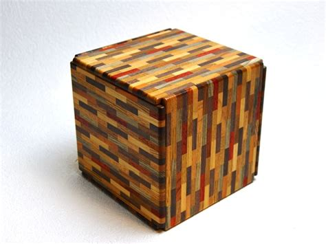Japanese Puzzle Box 4 Sun Super Cubi 324 Steps Yosegi
